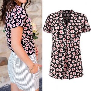 CAbi | Harmony Floral Blouse 5347 NWOT